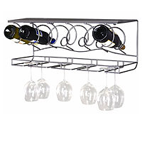 The Wine Bar Wine Rack