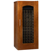 Le Cache Contemporary Series Model 1400 172-Bottle Wine Cellar in Provincial Cherry Finish