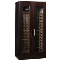 Le Cache Contemporary Series Model 2400 Wine Cellar - 286-Bottle Capacity, Chocolate Cherry Finish