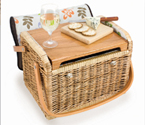 Kabrio Botanica Willow Picnic Basket for 2