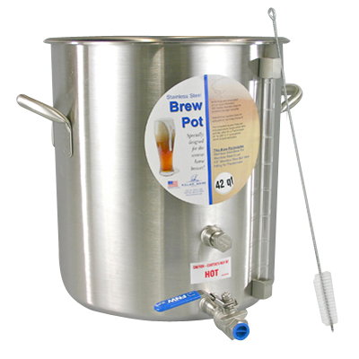 1 Photo of 15 Gallon 240V Electric G2 BoilerMaker Brew Pot