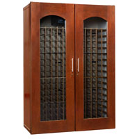 Le Cache Contemporary Series Model 3800 458-Bottle Wine Storage Cabinet in Classic Cherry Finish