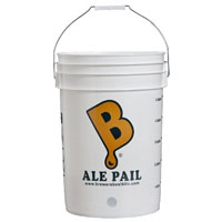 6.5 Gallon Pail - Drilled For Spigot