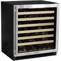 Marvel 8SWCE-BB-G Sentry Digital 75 Bottle Wine Cooler Refrigerator