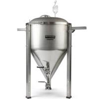 14.5 Gallon Conical Fermenator NPT Standard Fittings