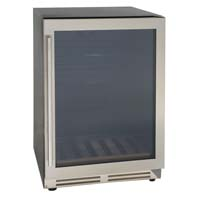 Avanti BCA5105SG 5.3 Cu. Ft. Beverage Center with Stainless Steel Glass Door