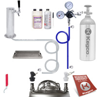 Ultimate Home Brew Tower Kegerator Conversion Kit