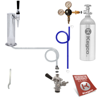 Economy Guinness® Dispensing Draft Tower Conversion Keg Tap Kit