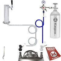 Economy Homebrew Tower Kegerator Conversion Kit