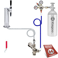 Standard Guinness® Dispensing Draft Tower Keg Tap Kit