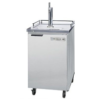 Outdoor Commercial Beer Cooler - Stainless Steel