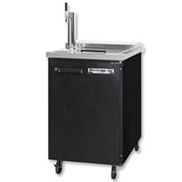 Club Top Commercial Beer Cooler - Black Vinyl