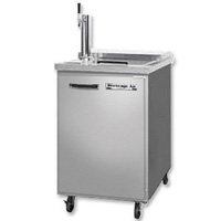 Club Top Commercial Beer Cooler - All Stainless Steel