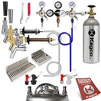 Custom Homebrew Kegerator Conversion Kit