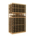 Double Deep 9 Column Wine Rack Display