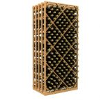Double Deep Lattice Diamond Bin