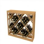 Lattice Diamond Wine Bin