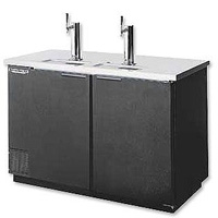 Kegerator Commerical 3-Keg Beer Cooler - Black Vinyl