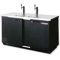Kegerator Three Keg Beer Cooler - Black Vinyl