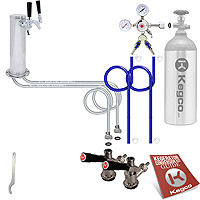 Standard Two Keg Tower Kegerator Conversion Kit