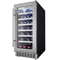 Silhouette Professional 28 Bottle Built-In Wine Cooler