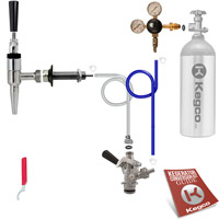 Economy Guinness® Dispensing Kegerator Conversion Kit
