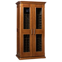 European Country Euro 2400 286-Bottle Wine Cellar - Provincial Cherry Finish
