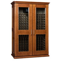 European Country Euro 3800 458-Bottle Wine Cellar - Provincial Cherry Finish