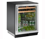 U-Line 1075BEVS-00 Beverage Center - Field Reversible