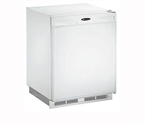 U-Line 1175RW-13 1000 Series 5.3 cf Refrigerator - White Cabinet with White Door - Right Hinge - Lock Model