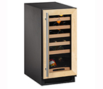 U-Line 2000 Series 2115WCOL-00  24 Bottle Wine Refrigerator w/Full Overlay Frame