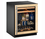U-Line 2175BEVCOL-60 Beverage Center - Solid Wood Panel Overlay