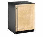 U-Line 2175WCCOL-60 48 Bottle Wine Cellar w/Solid Panel Overlay