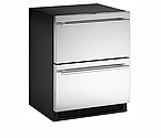 U-Line 2275DWRRS-00 Echelon 5.5 cf Drawer Refrigerator - Stainless Steel Doors