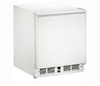 U-Line 29RWH-13 3.3 cf Built-in Refrigerator w/Lock - White Cabinet with White Door - Right Hinge
