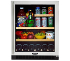 Marvel 6GARM-BS-G-R Luxury Series Beverage Center - Stainless Steel Framed Glass Door - Right Hand Hinge