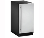 U-Line BI2115S-00 Echelon Stainless Steel Ice Maker - Right-Hand Door Swing