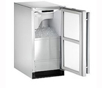 U-Line CLR2160S-00 Echelon Stainless Steel Clear Ice Maker - Right-Hand Door Hinge