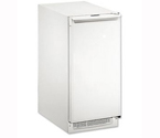 U-Line CLR2160W-40 2000 Series Clear Ice Maker - White Cabinet with White Door - Drain Pump