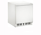 U-Line COMBO 29FF W 1000 Series Frost-Free Refrigerator/Ice Maker Combo Model - White Cabinet with White Door