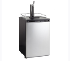 Danby DKC146SLDB Full Size Kegerator - Black Cabinet with Stainless Steel Door
