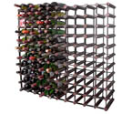 Bordex 110 Bottle Wine Rack - Cherry Finish