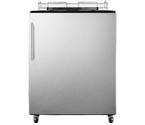 Summit SBC490NKSSHV Kegerator (Cabinet Only) with w/ Handle and Stainless Door