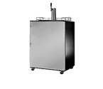 Scratch & Dent - Summit SBC490SSHV Kegerator with w/ 14-mm Black Cabinet with Dia Handle and Stainless Door