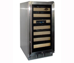 Vinotemp VT-26 26-Bottle Wine Cooler Refrigerator in Stainless Steel