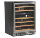 Avanti WCR5450DZ 46 Bottle Built-In Dual Zone 46 Bottle Wine Cooler