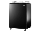 Summit SBC490BINK Built-In 1/2 Keg Kegerator - Tap Hardware Not Included