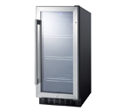 Summit SCR1536B Beverage Refrigerator