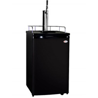 Guinness® Dispensing Kegerator with Black Cabinet and Door