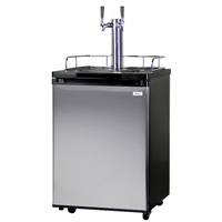 Kegco K209SS-2 Beer Fridge